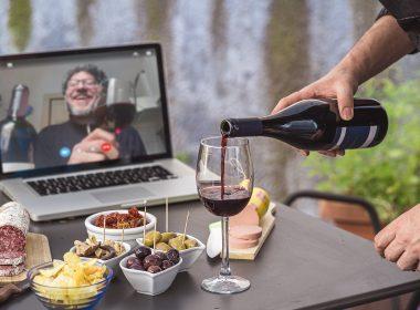 Apéro virtuel alcool été